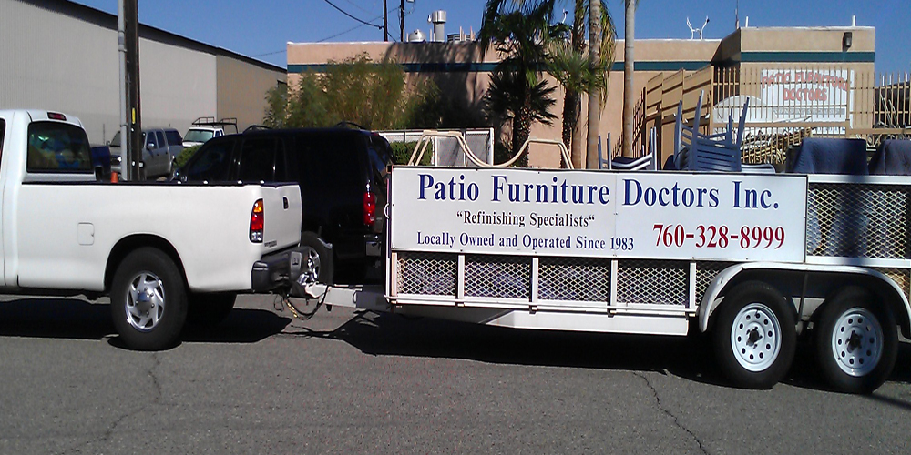 Patio Furniture Doctors Store. Complete Patio Furniture Refinishing Palm  Springs, Palm Desert, Indio
