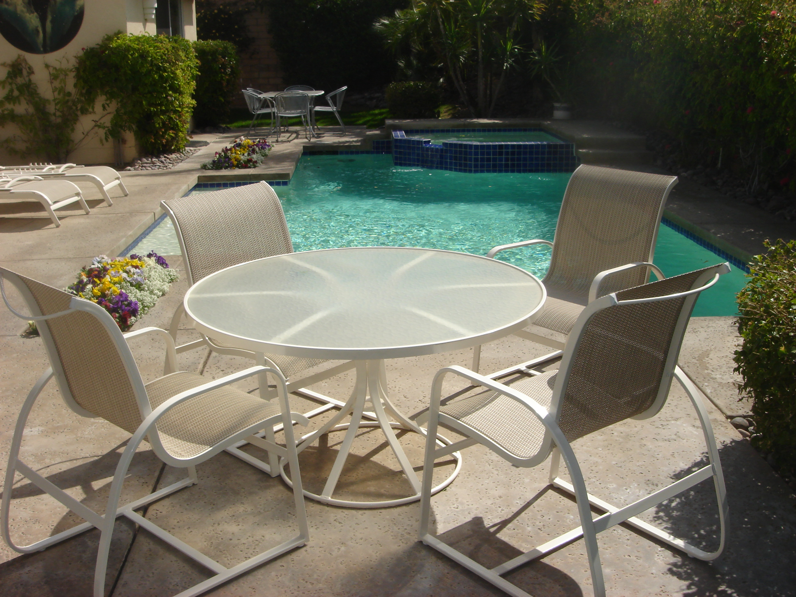 sling chair repair palm springs palm desert indian wells la