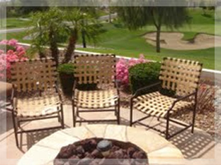 High Quality Re Strapping Patio Furniture